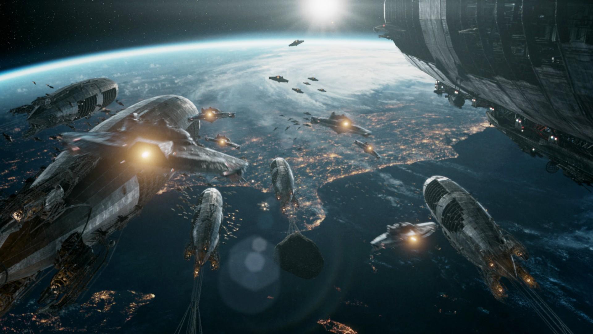 Кадр из фильма «Железное небо» (Iron Sky)