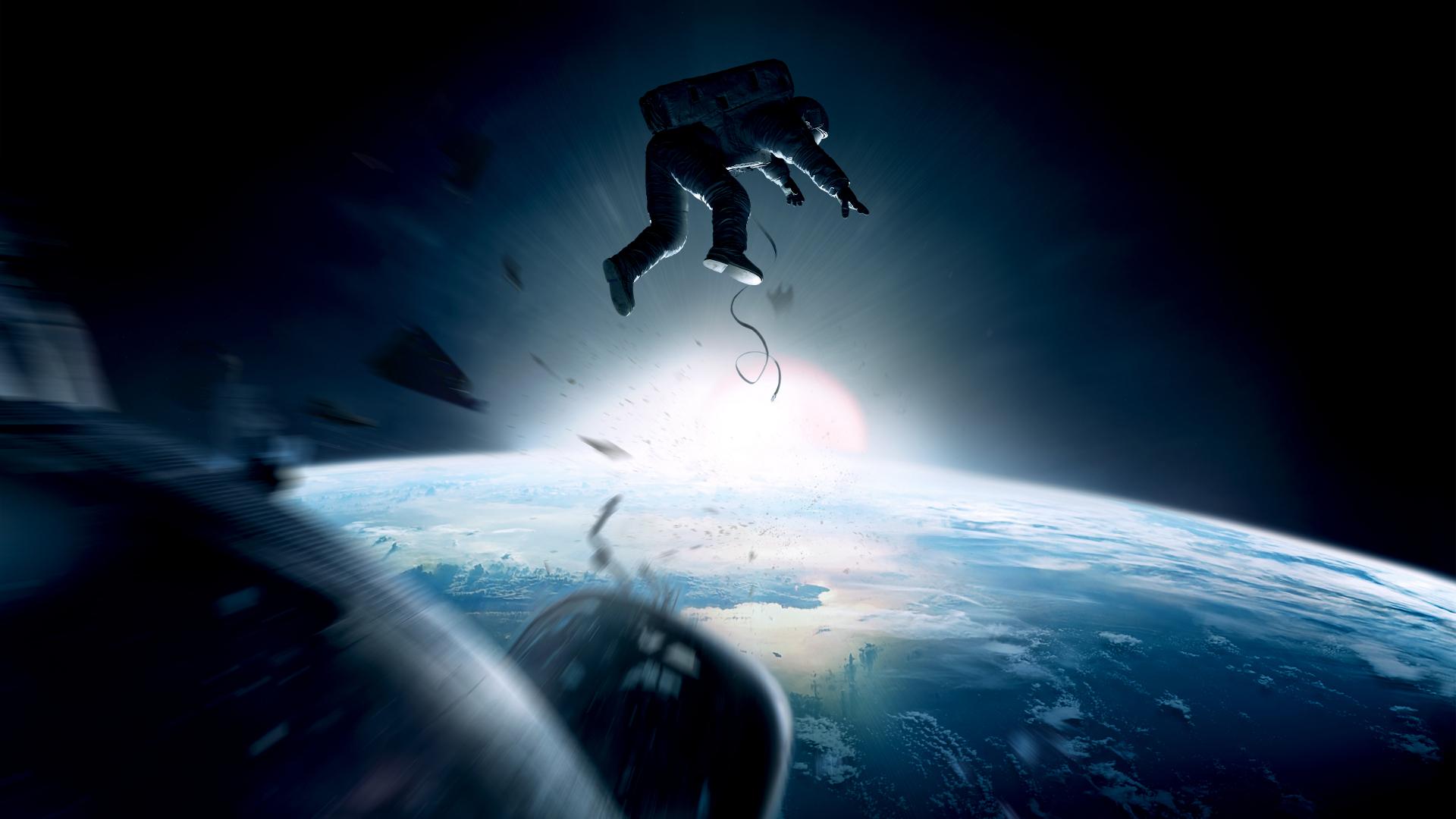 Постер из фильма «Гравитация»