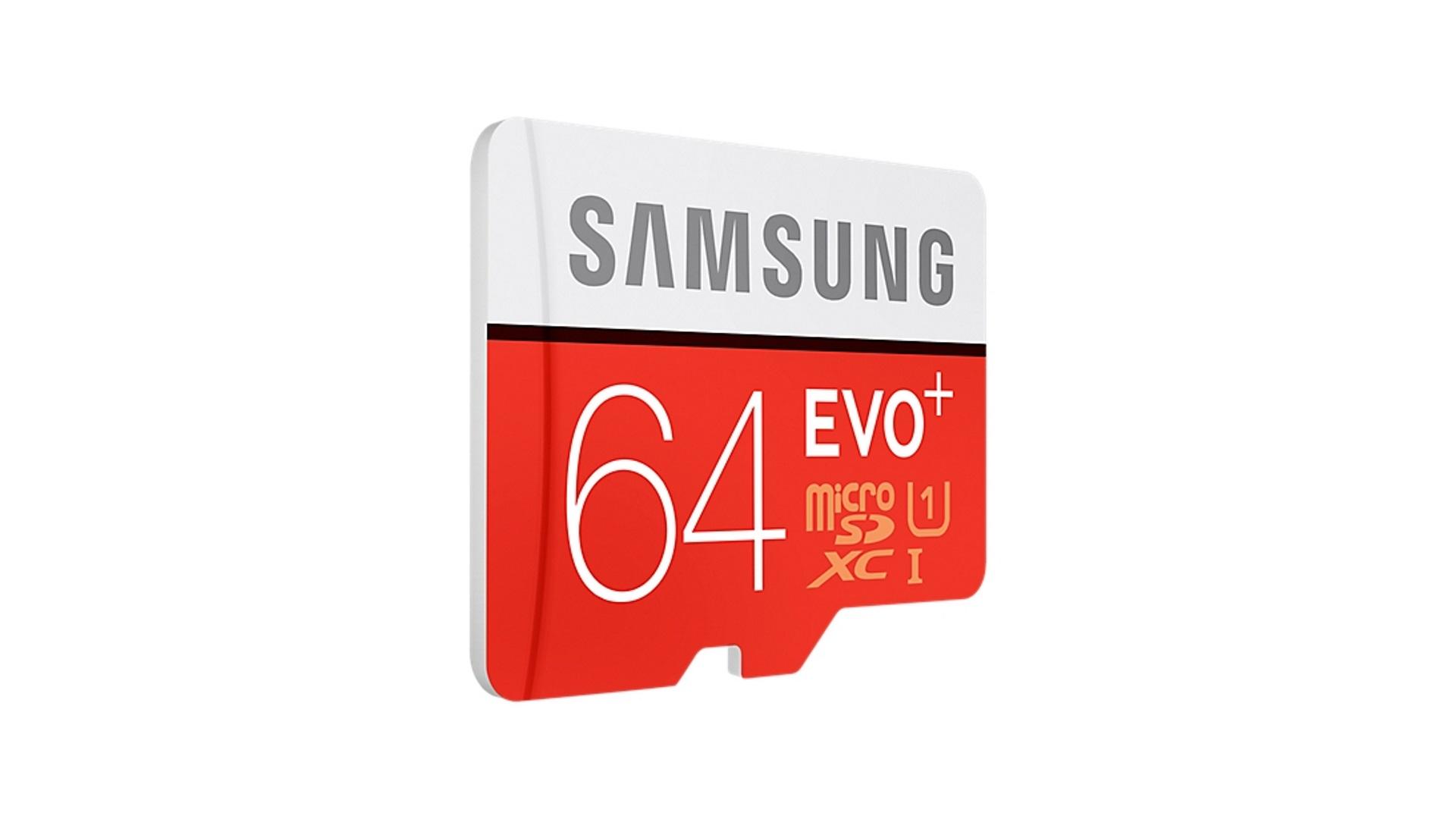MicroSDXC карта памяти Samsung MB-MP64DA/RU